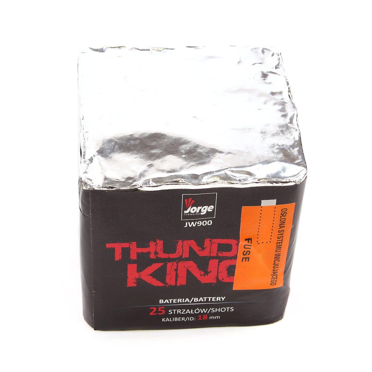 Jorge Thunder King - Feuerwerksvitrine