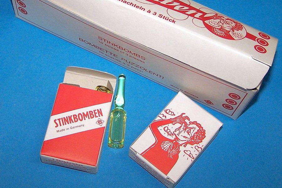 stinkbomben selber machen